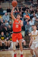 Lucas' Logan Niswander leads the Cubs into battle against St. Peter's on Friday night.