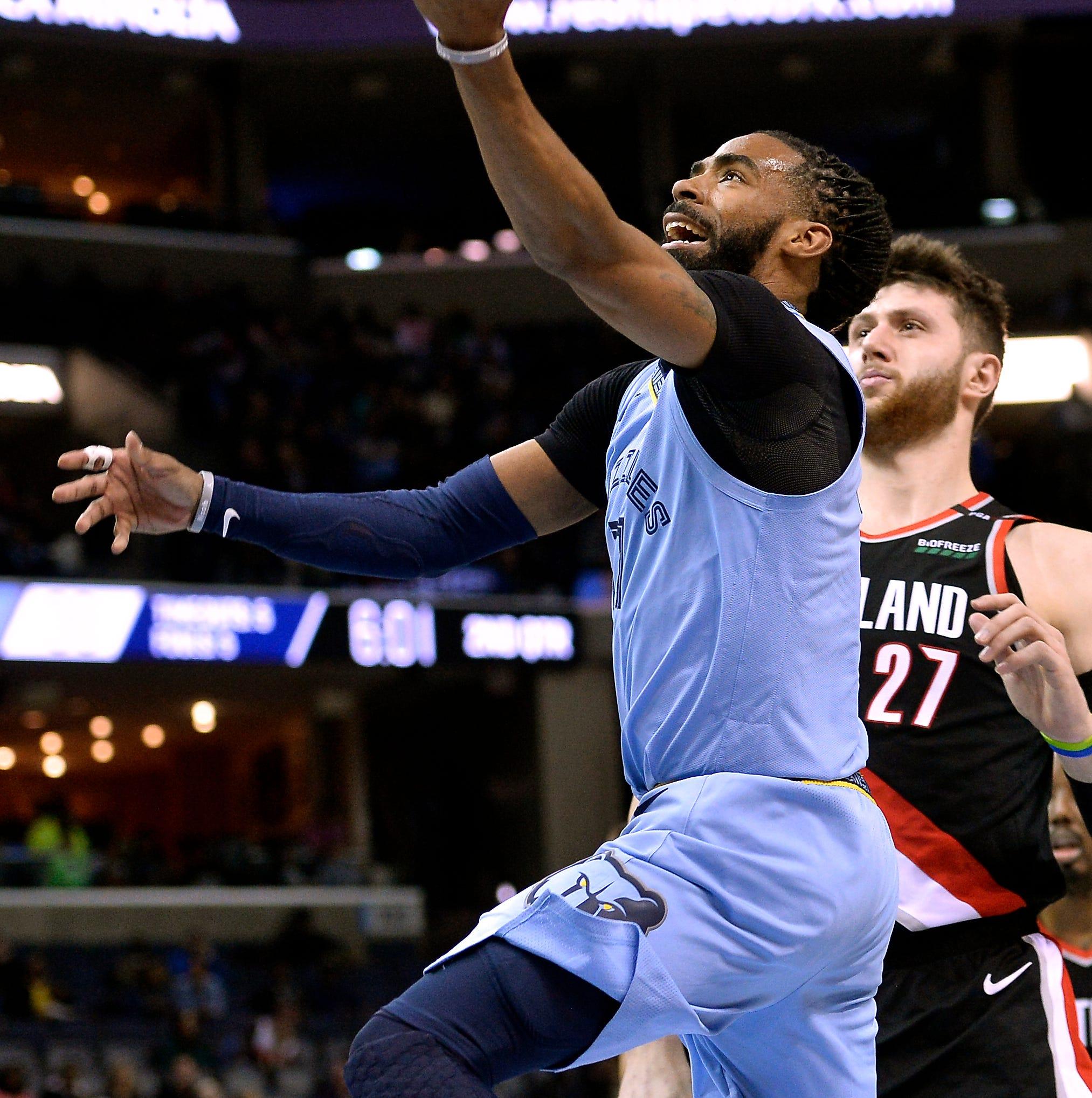 Game Recap: Memphis Grizzlies 120, Portland Trail Blazers 111