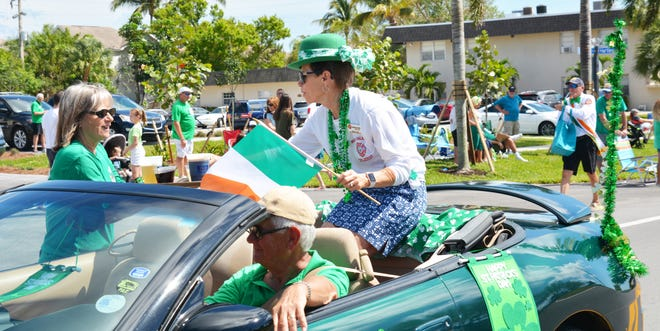Sons & Daughters of Erin held a parade Sunday on Marco Island.
