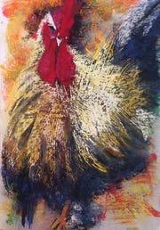 """""""Wonder Rooster"""" by Letizia DelVecchio."""