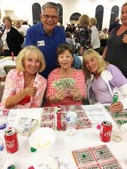 Knights of Columbus San Marco Council #6344 Bingo Feb. 28 winners big jackpot winner, Joan Coughlin of New Jersey.