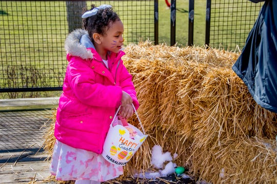 Kids can search for eggs at a lot of places in and around Milwaukee, including the zoo on Egg Day.