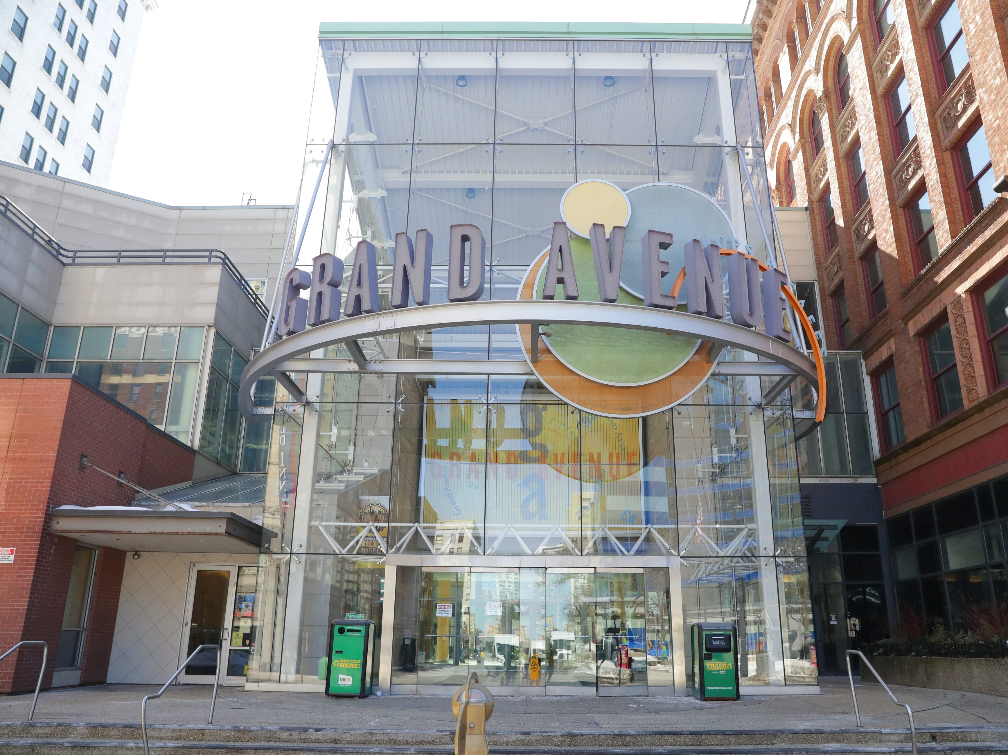 The former Grand Avenue mall on West Wisconsin Avenue in Milwaukee will become The Avenue mixed-use development.