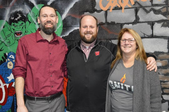 Adam Kindred, Ben Blandin and Shari Kleppe started Ignite Recovery in January 2018.