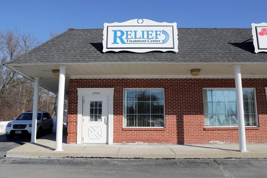 Relief Treatment Center at 13760 W. Capitol Drive in Brookfield was the target of a U.S. Drug Enforcement Administration administrative inspection warrant. Agents seized patient files and appointment schedules.