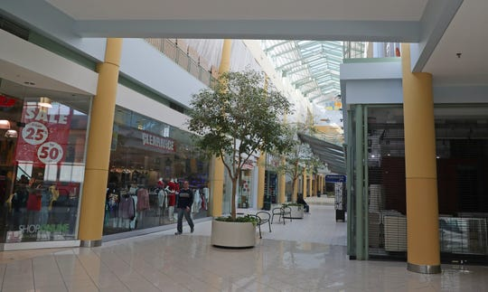 The former Grand Avenue mall is changing.