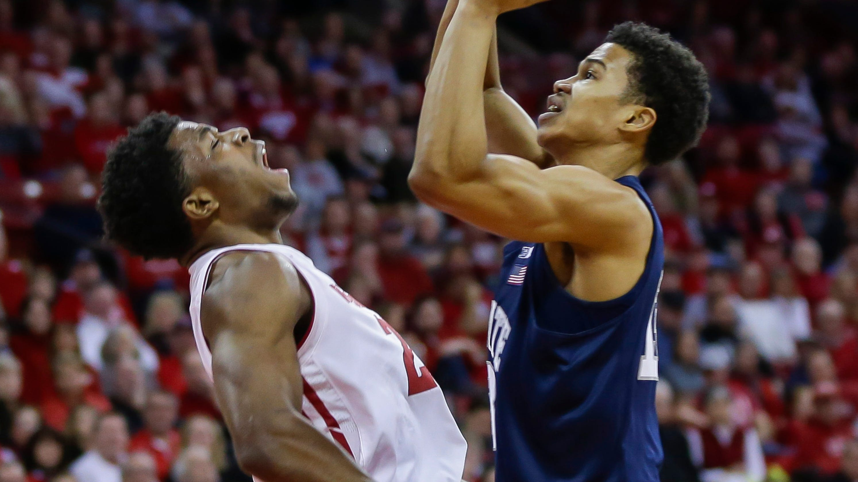 1d268609922 Senior Khalil Iverson is playing his best basketball at Wisconsin