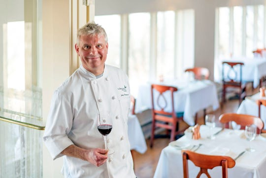 John Raymond, chef de cuisine at Lake Park Bistro, had to learn to love cabbage. Now it features regularly in the restaurant's French-inspired dishes.