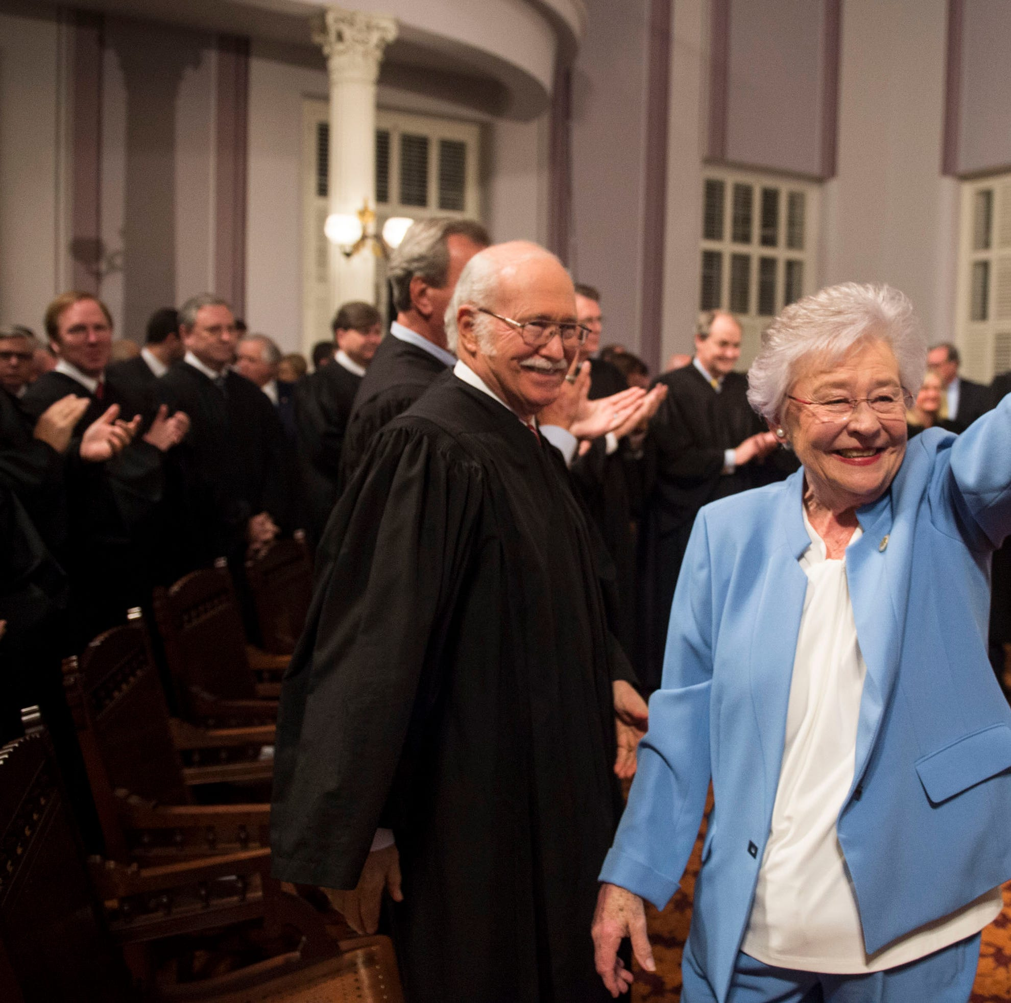 Where does Alabama governor Kay Ivey stand on abortion, adoption, birth control?