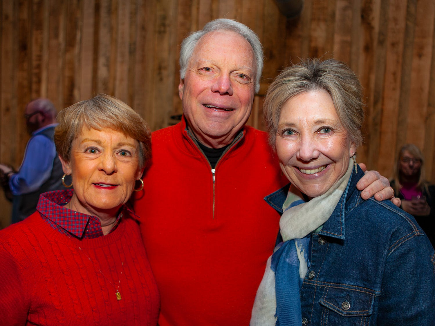 Ellen Slicker with Murphy and Barbara Thomas at the second night of Bluebird in the Boro, held March 4-6, 2019. A benefit for Alive Hospice, the event was held at The Grove at Williamson Place in Murfreesboro.