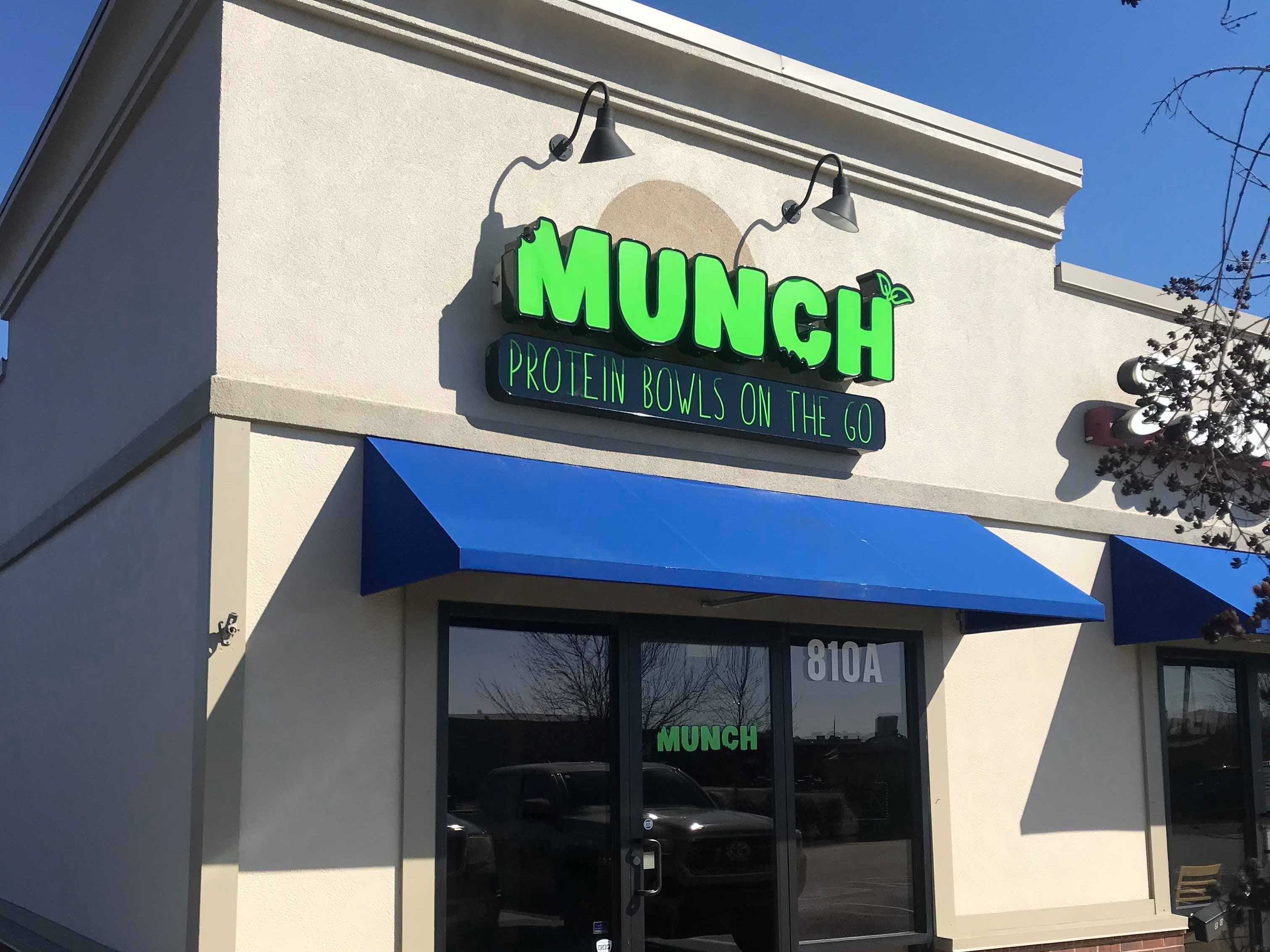 Munch Murfreesboro, which offers protein-packed healthy meals for an affordable price, is opening March 16 at 810A Medical Center Parkway.