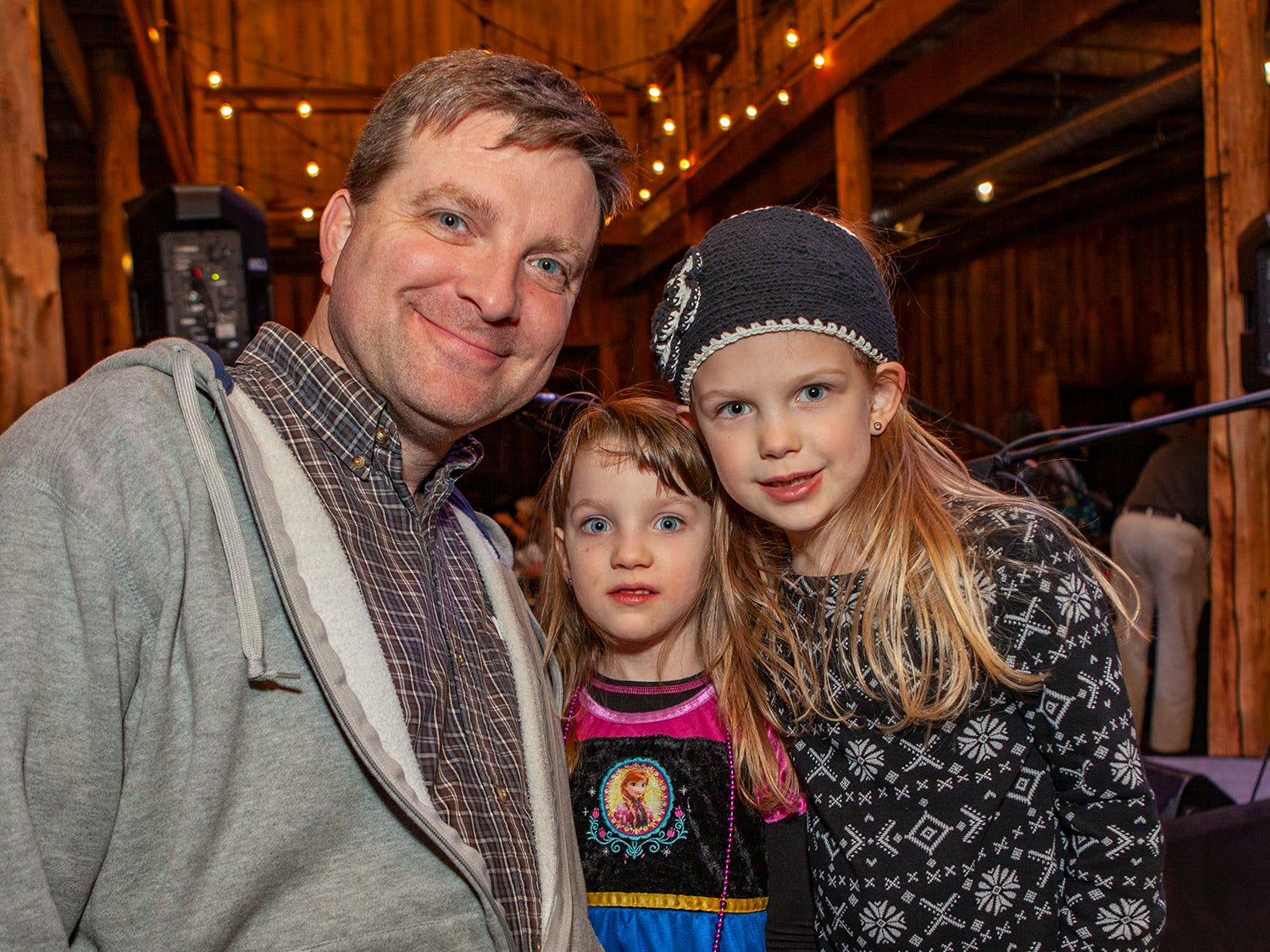 Jason, Elin and Ella Parker enjoyed some family time at the second night of Bluebird in the Boro, held March 4-6, 2019. A benefit for Alive Hospice, the event was held at The Grove at Williamson Place in Murfreesboro.