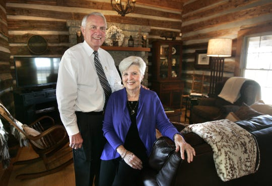 Former Rutherford County Mayor Ernest Burgess and wife, Peggy plan to sell a large portion of their Franklin Road farm. Developers plan 1,900 homes for a subdivision called Harvest.
