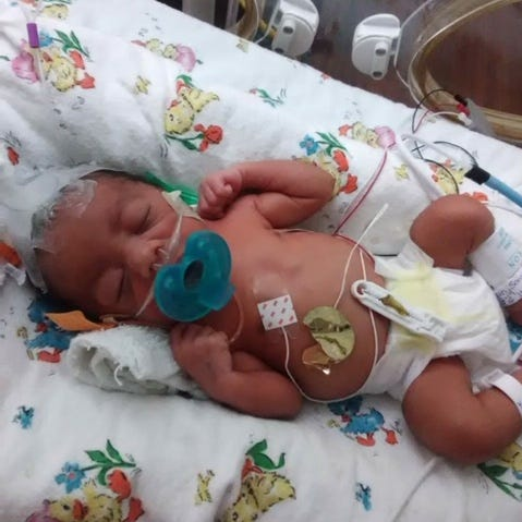 Team of Rutherford County first responders assist the birth of premature baby