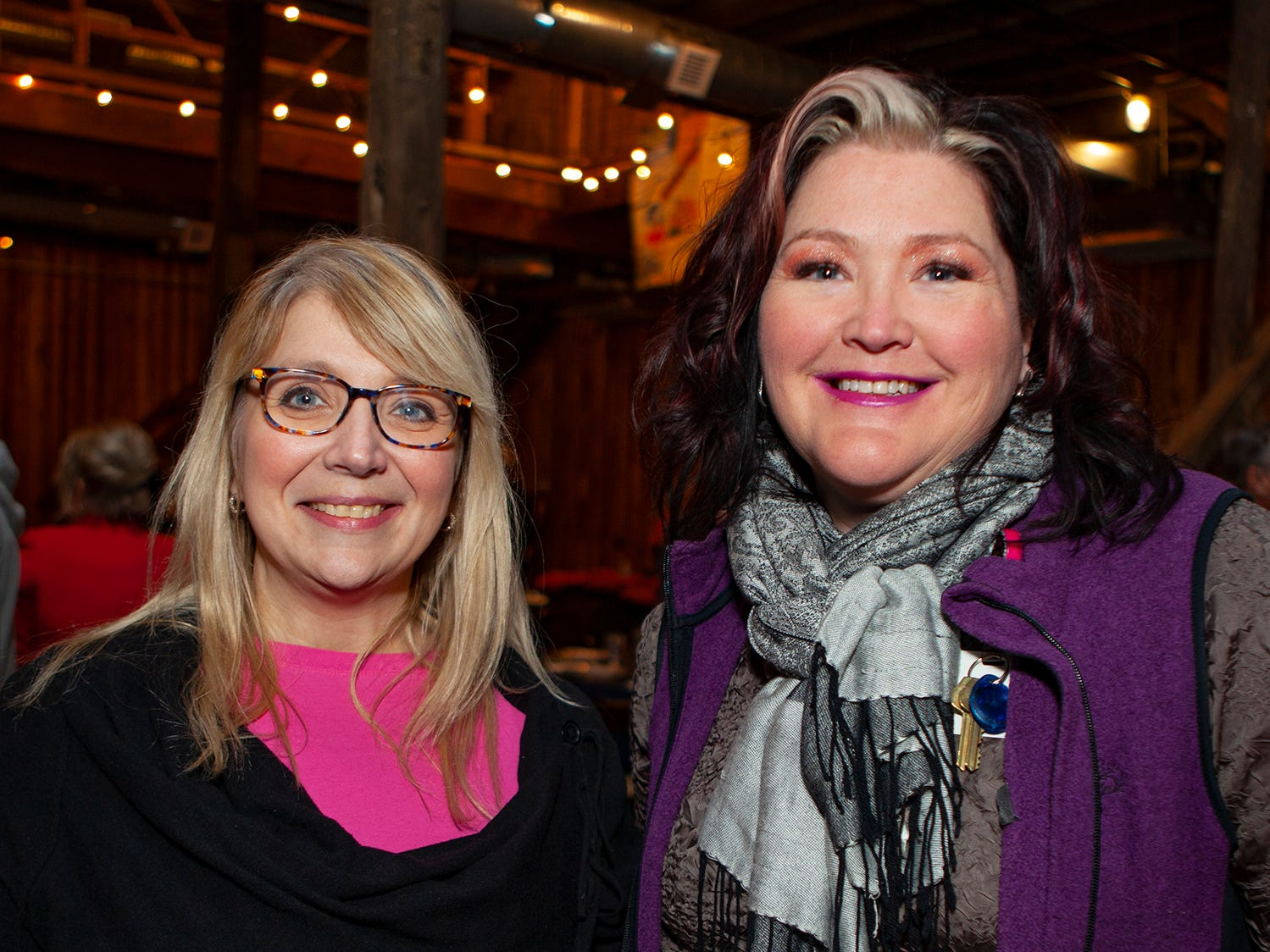 Leslie Baker and Jennifer Levi at the second night of Bluebird in the Boro, held March 4-6, 2019. A benefit for Alive Hospice, the event was held at The Grove at Williamson Place in Murfreesboro.