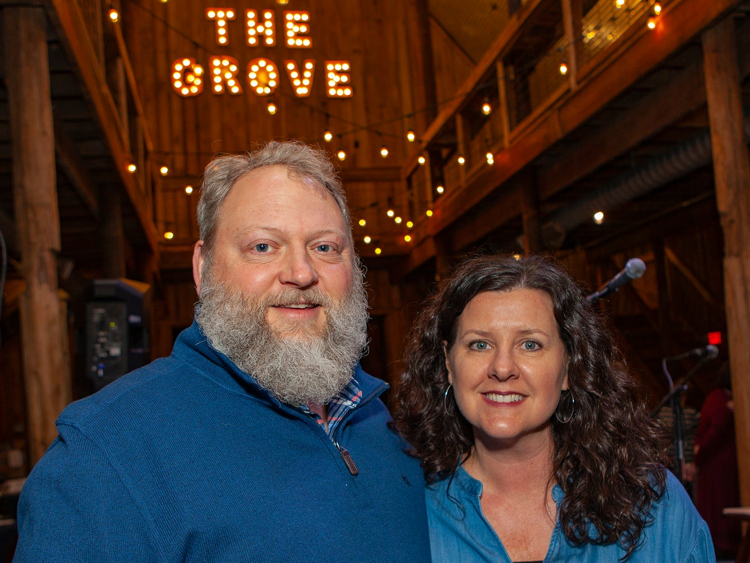 Dr. Jeremy and Dawn Harrison at the second night of Bluebird in the Boro, held March 4-6, 2019. A benefit for Alive Hospice, the event was held at The Grove at Williamson Place in Murfreesboro.