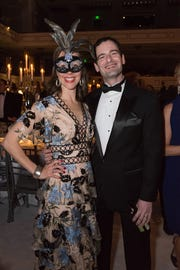 Evelyn and Gabe Galletti attend the 30th anniversary Ballet Ball at Schermerhorn Symphony Center.