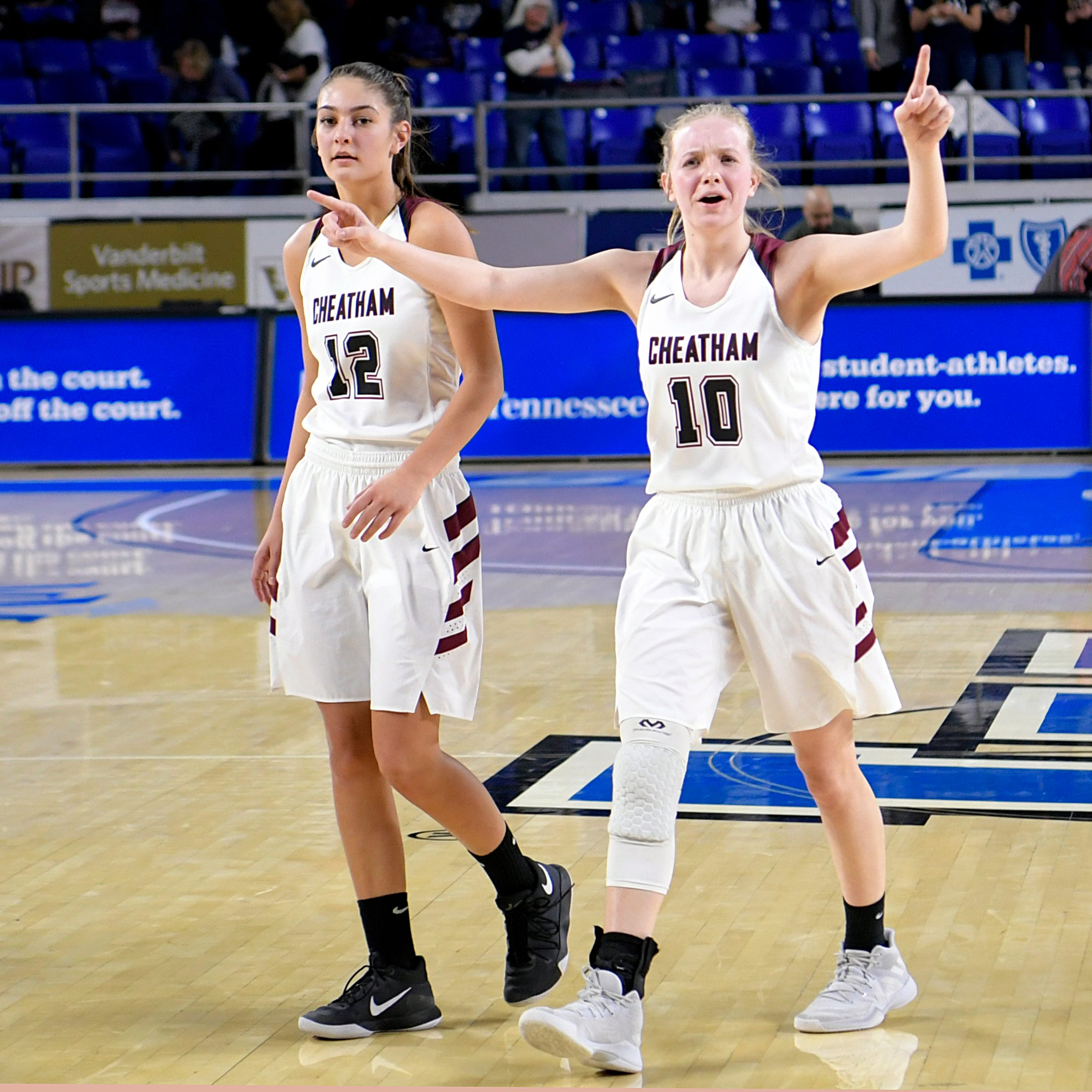 Pat Summitt's great nieces help Cheatham County girls reach state semifinals