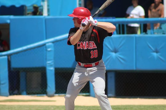 Outfielder Cooper Davis was on the Canada junior national team before coming to Vanderbilt.
