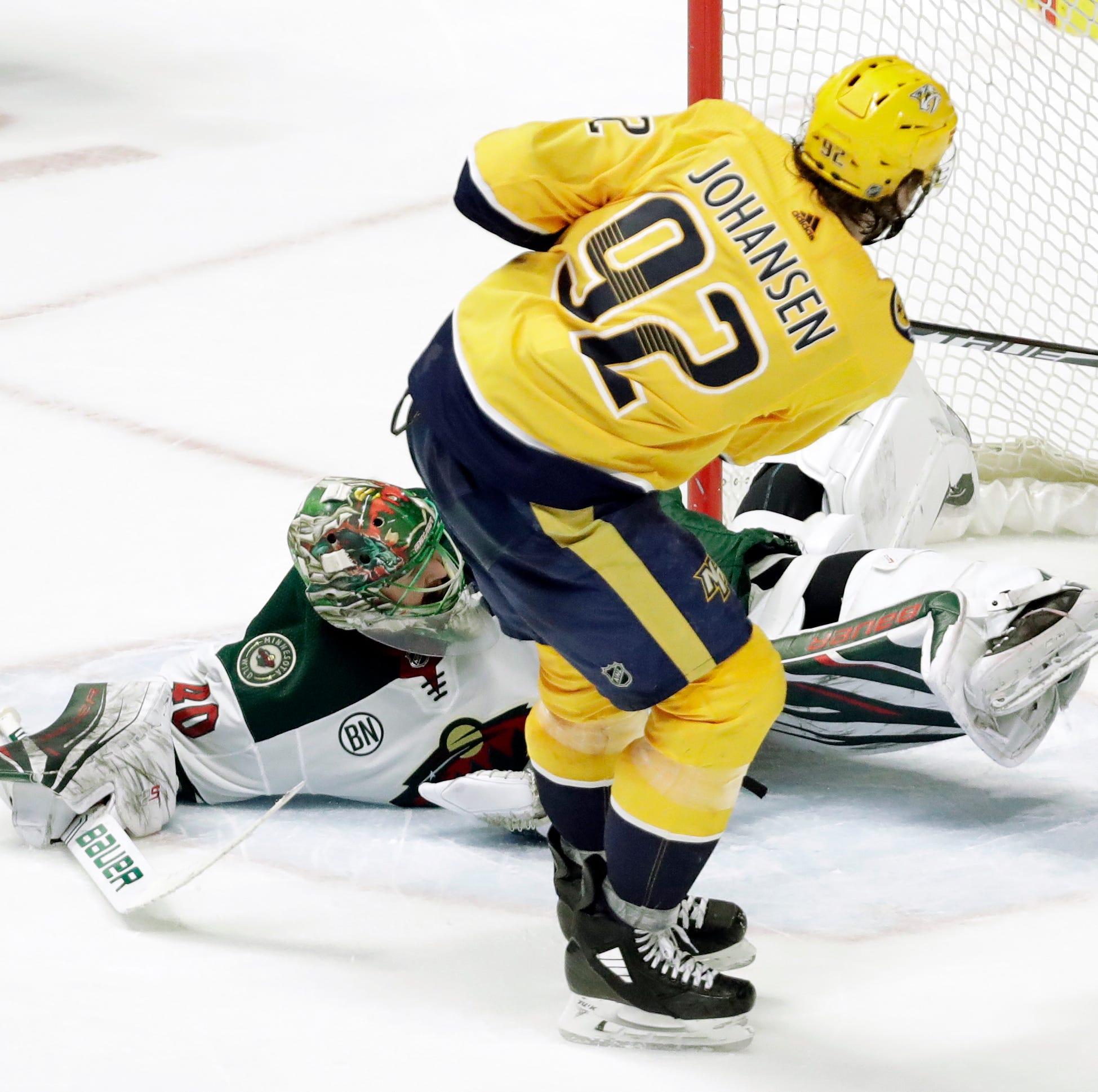 Ryan Johansen does it again: Shootout goal gives Preds win over Wild