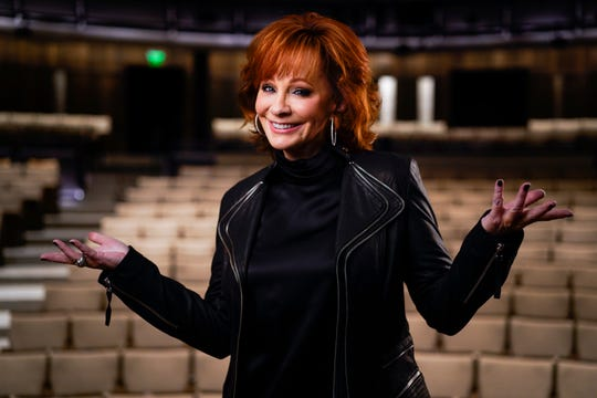 Reba McEntire poses for a portrait March 5, 2019, at the Country Music Hall of Fame and Museum in Nashville. McEntire is releasing a new album, hosting the ACM Awards for the 16th time and is part of a new exhibit at the Hall of Fame.
