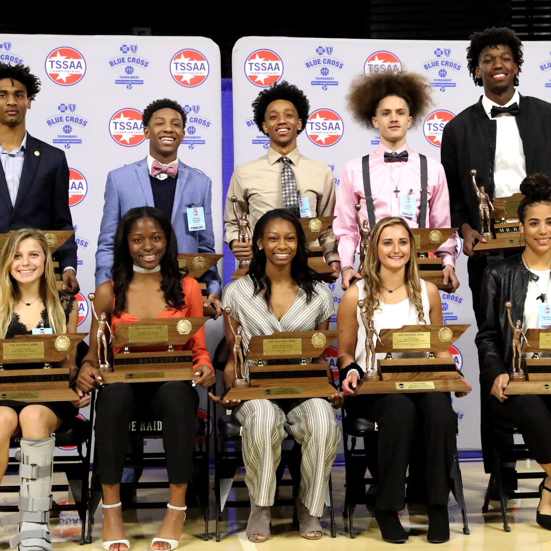 Peabody's Ja'Darius Harris, Greenfield's Chloe Moore-McNeil earn Mr. and Miss Basketball honors