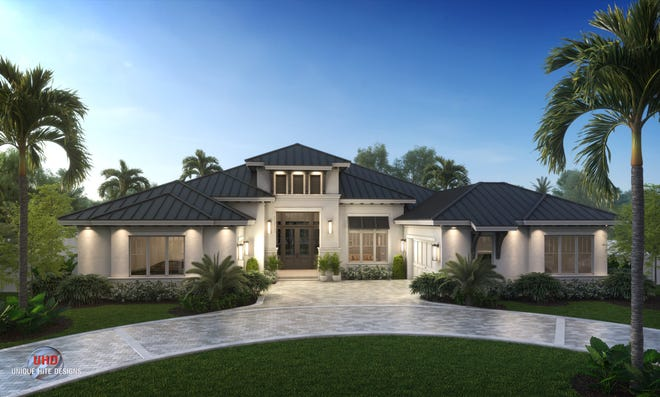 Borelli Construction's new model home is located at 586 Neapolitan Lane.