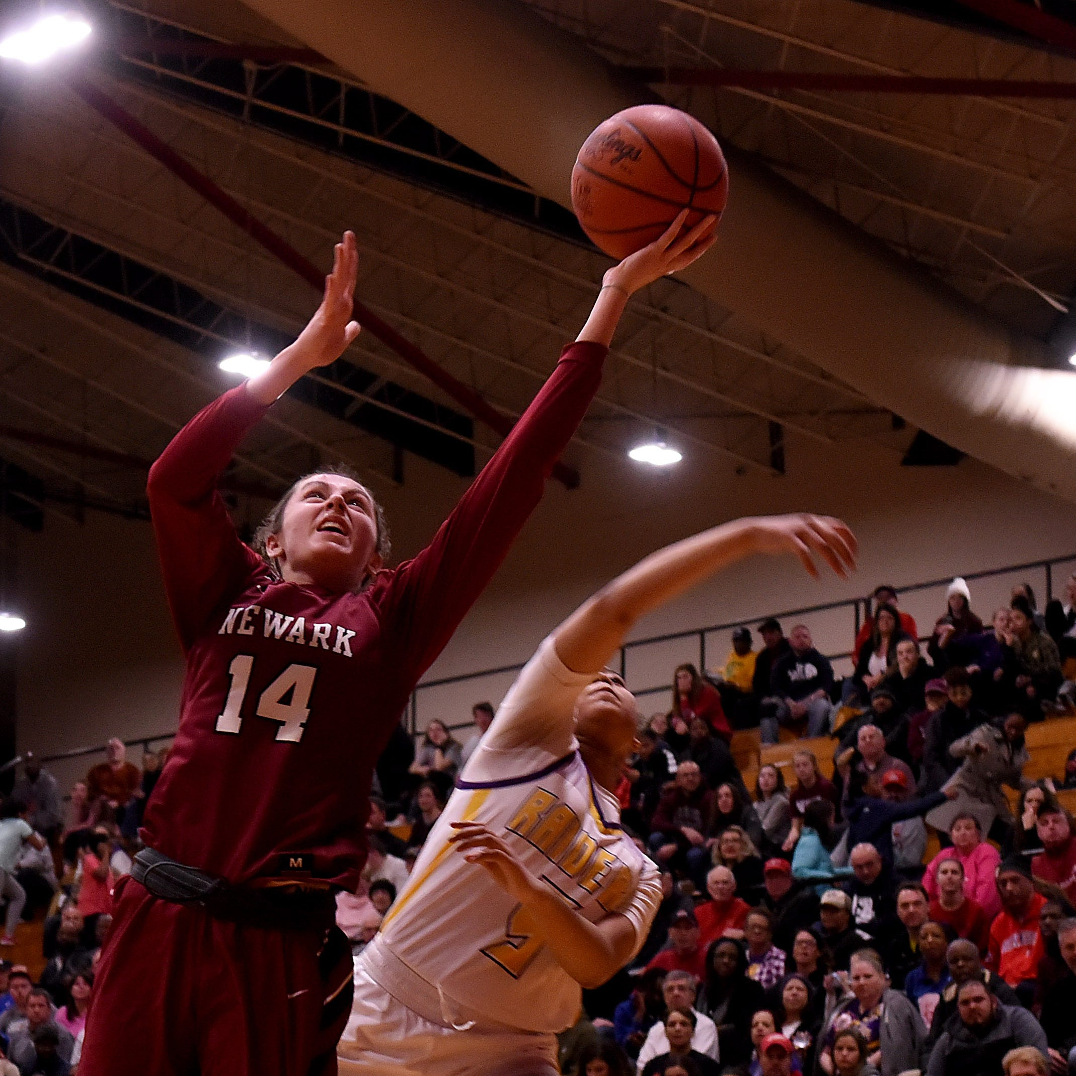 Newark's Shumate, Sharps receive third All-Ohio girls basketball honors