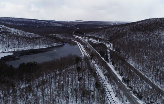 Looking west over Route 23 on Wednesday, March 6, 2019, in Newfoundland.