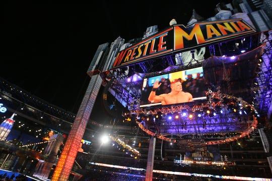 Wrestlemania XXIX at MetLife Stadium. 4/8/13.
