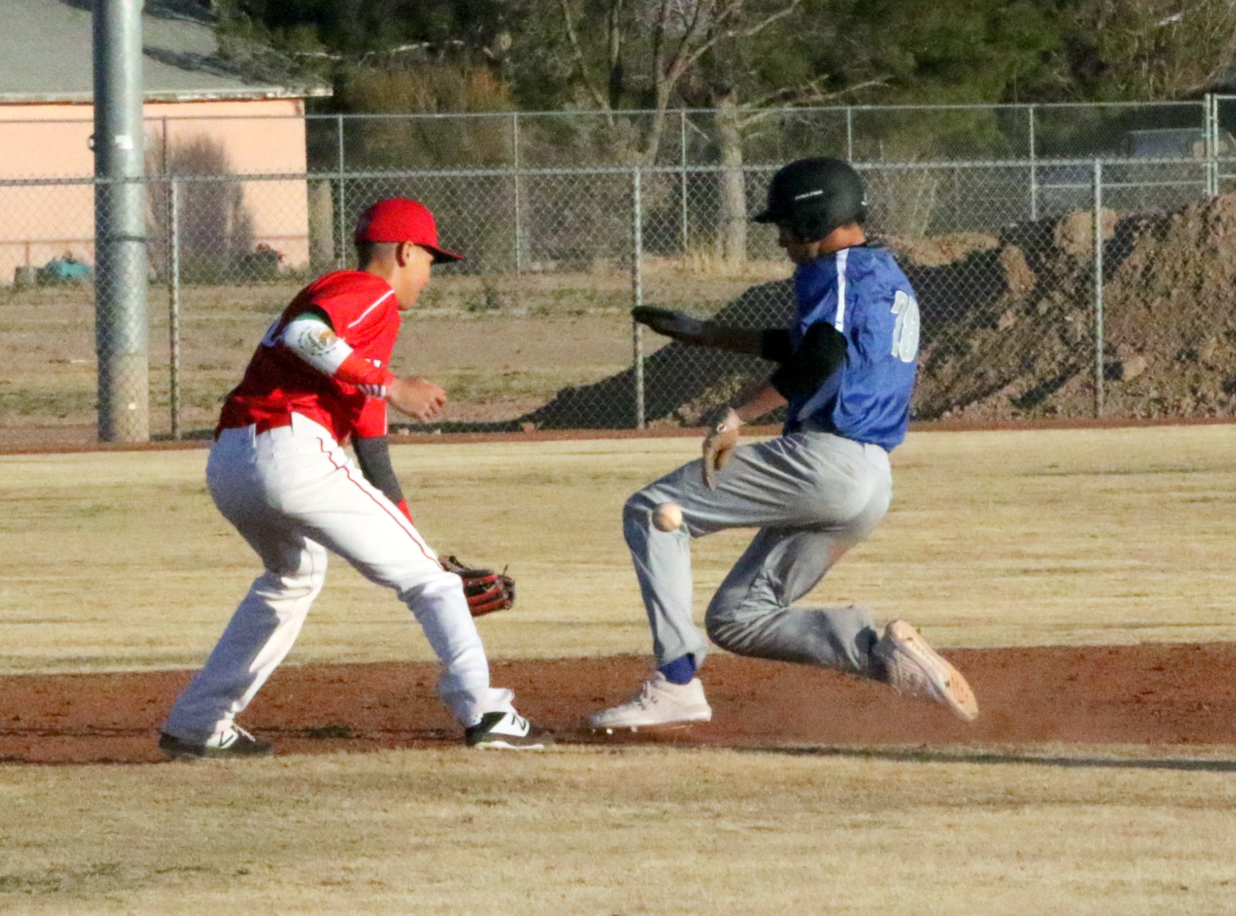 Photo highlights from Game 1 of a doubleheader between Loving and Carlsbad's C-team on March 5, 2019.