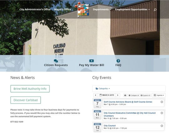 After nearly 11 years, the City of Carlsbad rolled out a new and improved website on March 4.