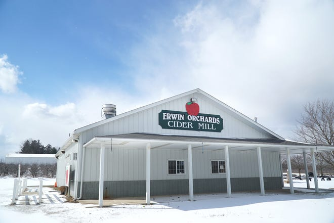 A developer's proposal to put 490 homes on Erwin Orchards property was denied earlier this year. Lyon Township officials are considering purchase of property development rights that could allow them to conserve farm land and slow development.