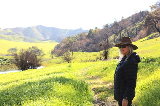 Suzanne Good is an environmental scientist for the state parks department.