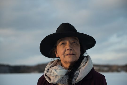 """Tantoo Cardinal stars in the feature film, """"Falls Around Her"""" at 7:32 p.m. Saturday as part of the Native FilmFest."""
