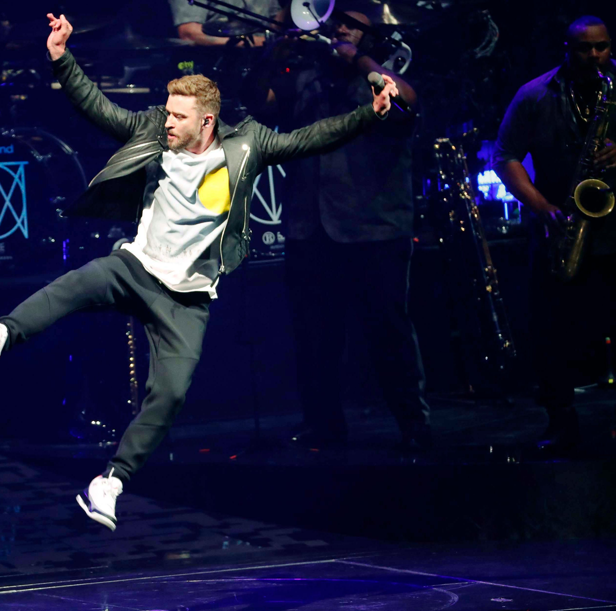 Justin Timberlake celebrates 100th show of his Man of the Woods Tour in Phoenix