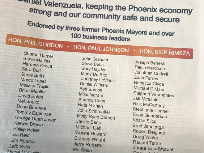 An Oklahoma City group is spending big to get Daniel Valenzuela elected mayor in Phoenix, Why?