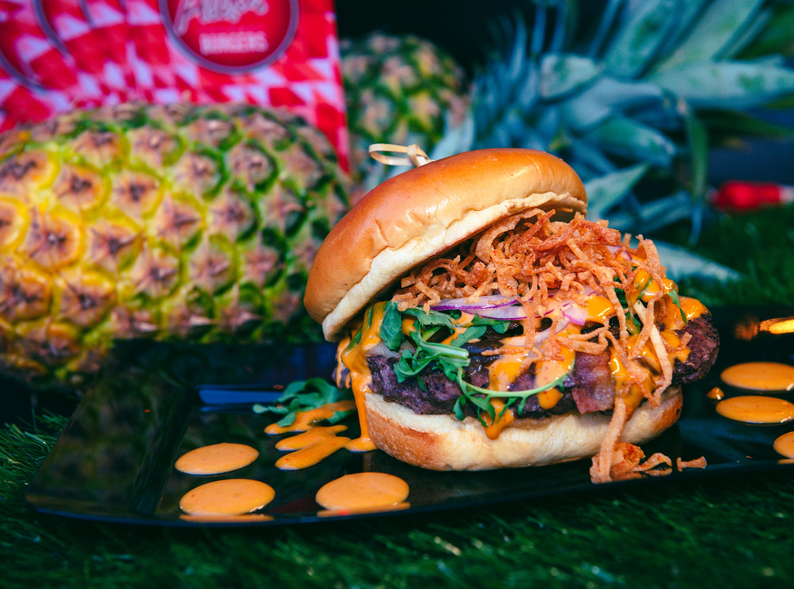 Four Peaks Burger Battle, a charity fundraising showdown presented by Scottsdale League for the Arts and City of Scottsdale is coming up on March 22, 2019 at Scottsdale Waterfront.
