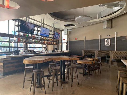 The interior of The Monroe bar in downtown Phoenix.