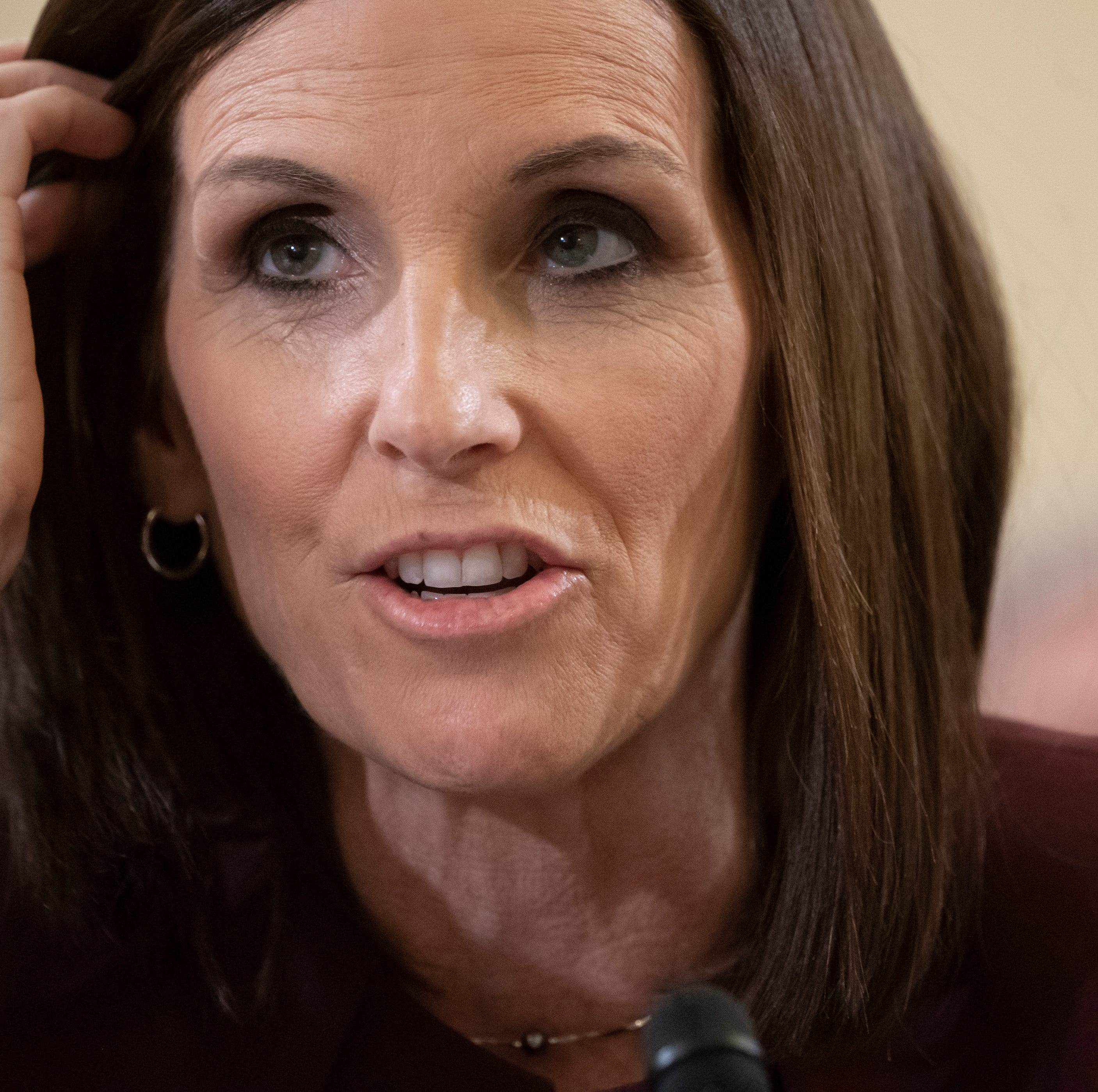 'I just would ask people respect my path,' McSally asks as she keeps pressure on military leaders