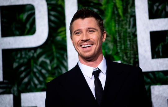 "Garrett Hedlund attends the world premiere of ""Triple Frontier"" on March 3, 2019, in New York City."