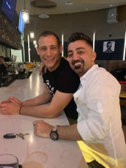 The Monroe bar owners Yiorgos Makris (left) and Michael Joseph.