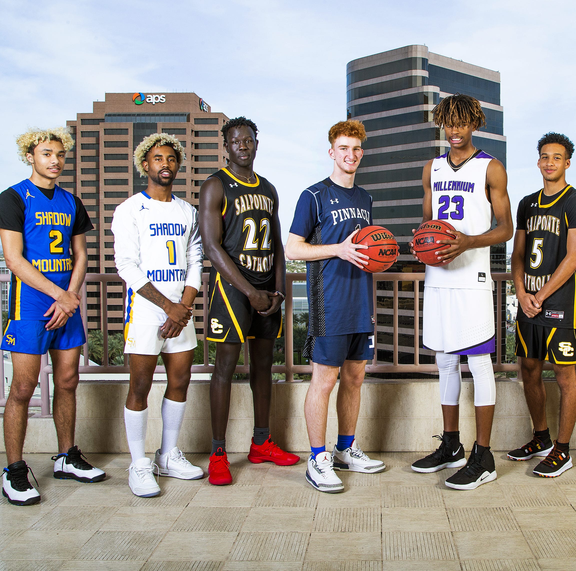 All-Arizona boys basketball team, Player of the Year finalists