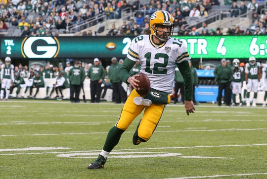 Green Bay Packers QB Aaron Rodgers is the highest paid quarterbacks in the NFL.
