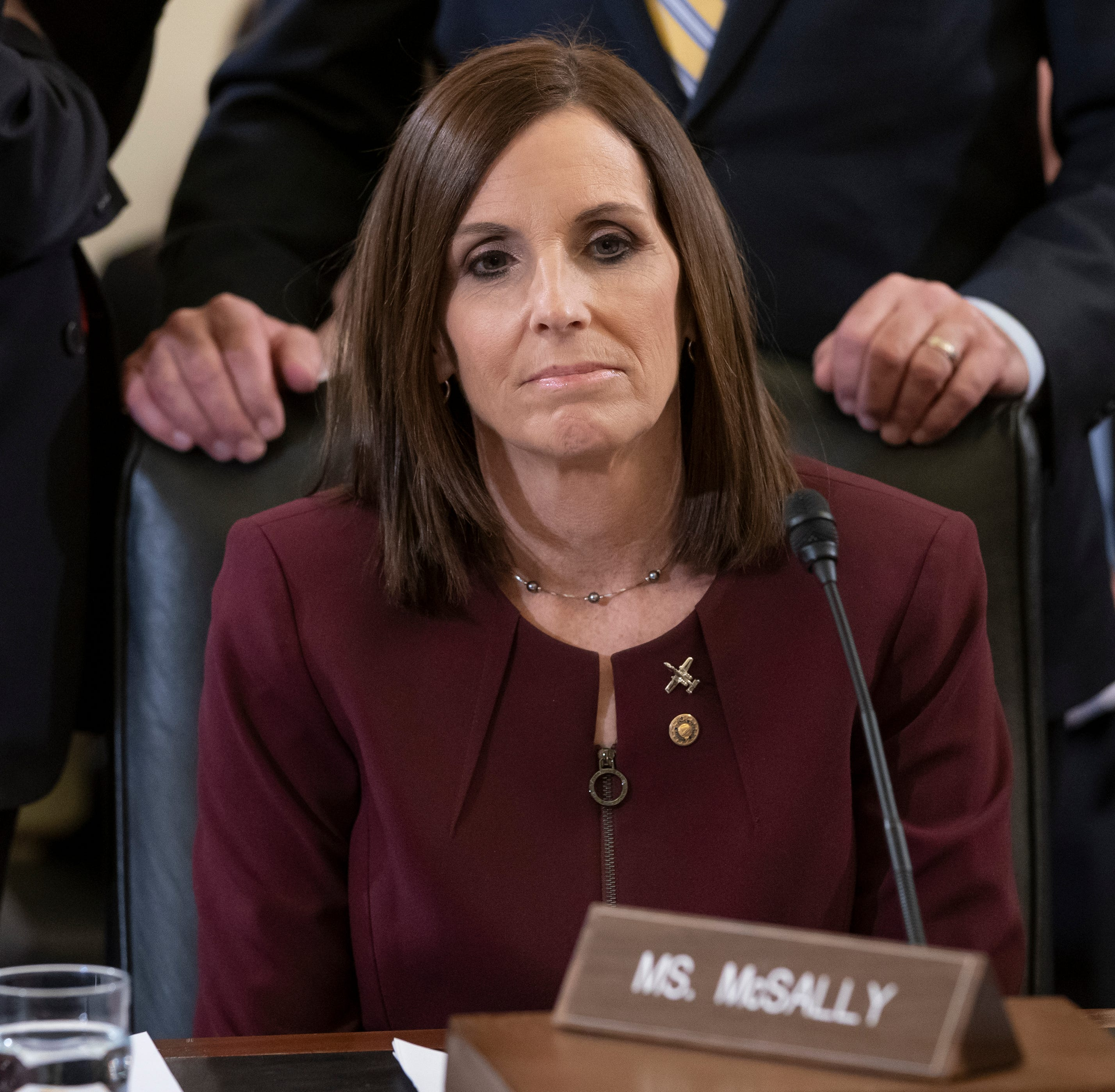Sen. Martha McSally reveals she was raped by superior officer while in the Air Force