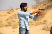 """Dev Patel plays a man with a mysterious past in """"The Wedding Guest."""""""