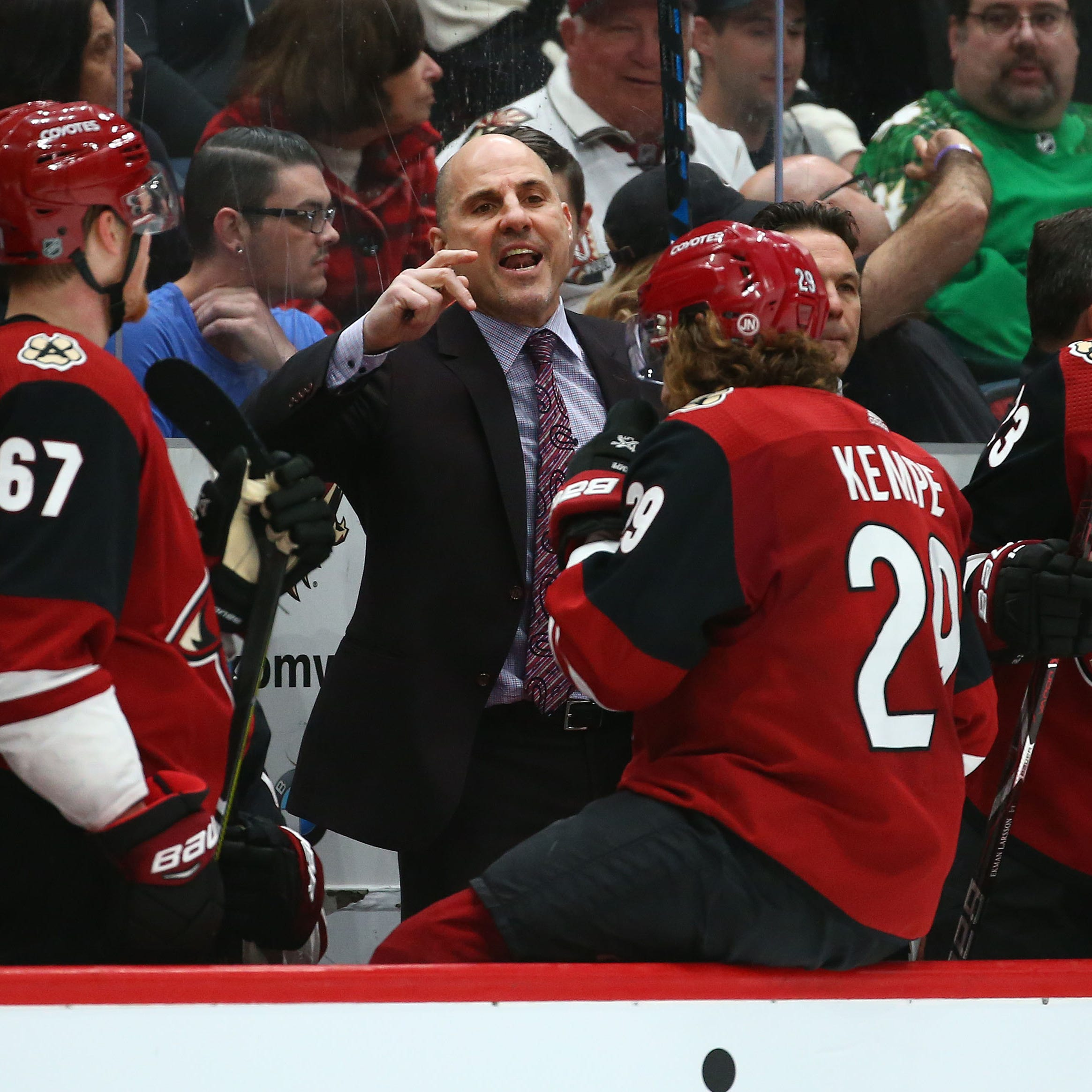 Rick Tocchet's Jack Adams buzz validated as Coyotes collect statement win over Flames