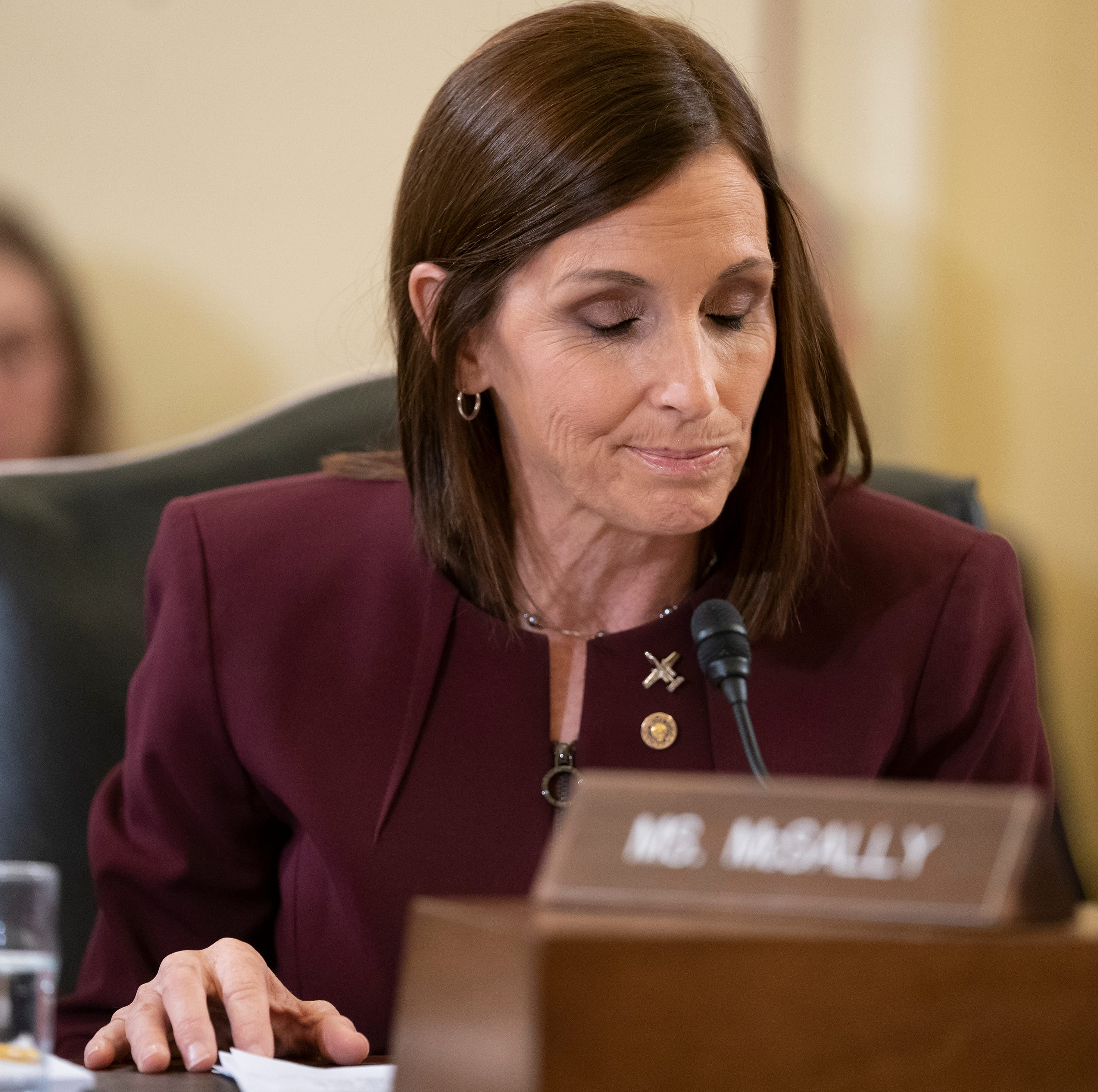 Sen. Martha McSally comes to John McCain's defense. Sort of. Without naming Donald Trump