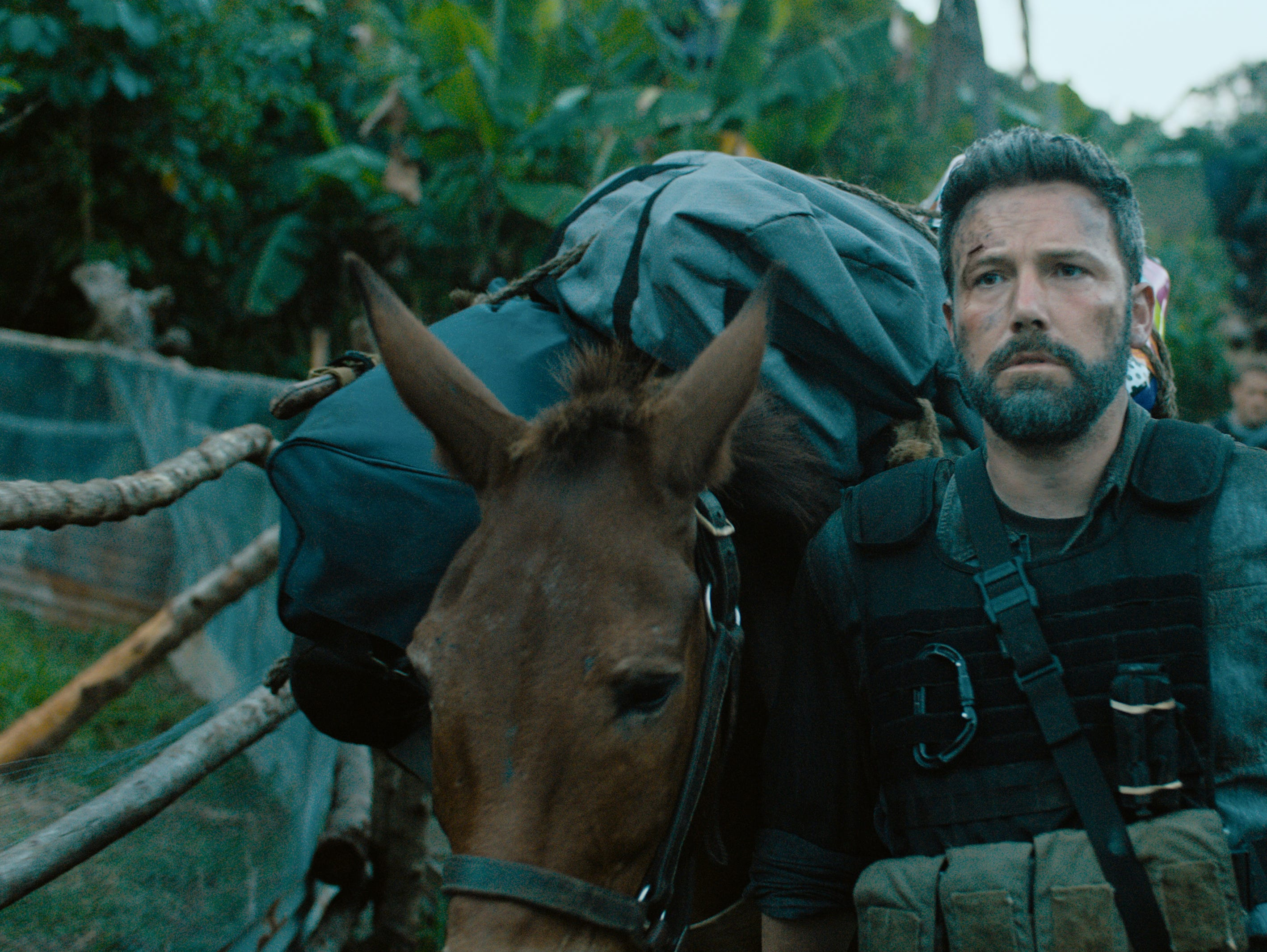"Ben Affleck plays 	Tom ""Redfly""  Davis in ""Triple Frontier."""
