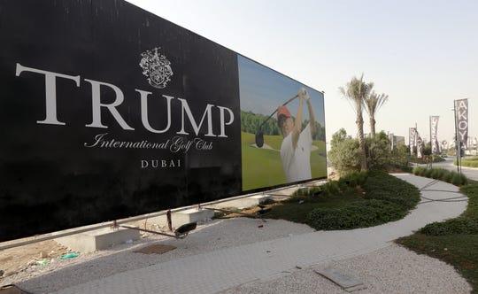 Campo de Golf en Dubai lleva el nombre de Donald Trump.